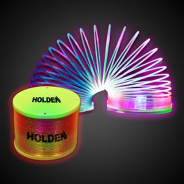 Rainbow LED Spring Toy