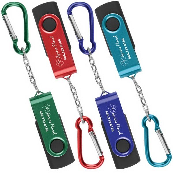 USB Swivel Keychain 8GB