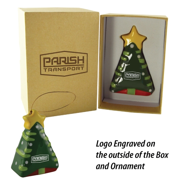 A Christmas To Remember Ceramic 3D Tree Ornament