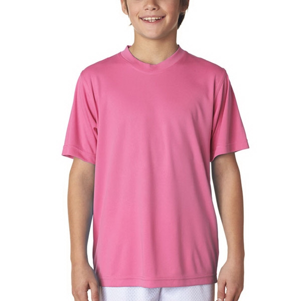 UltraClub (R) Youth Cool & Dry Performance T-Shirt