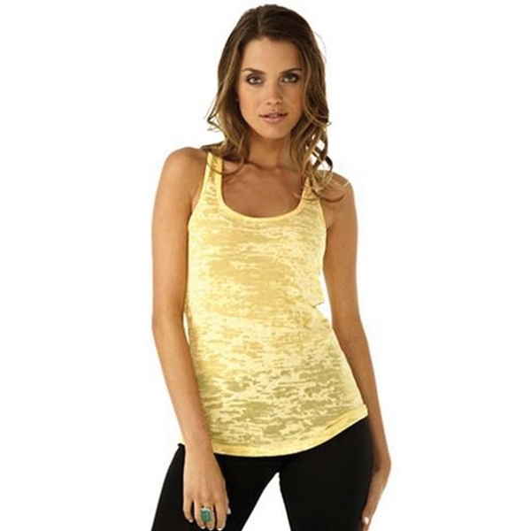 Next Level Ladies' Burnout Racer Back Tank Top