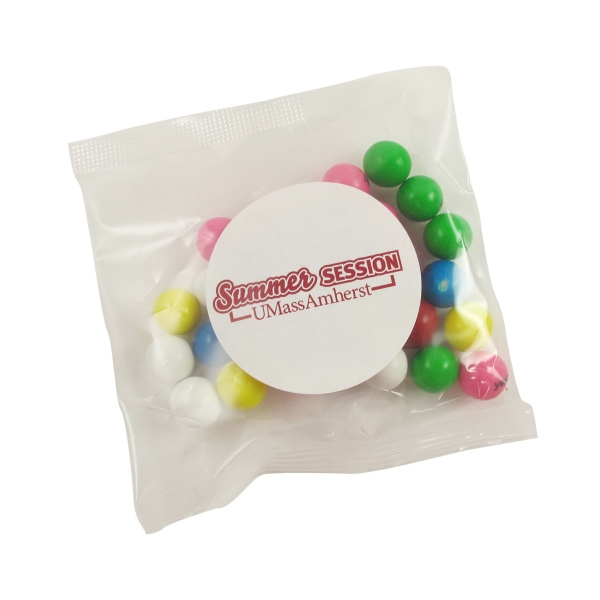 2oz Handful - Imprinted Gumballs