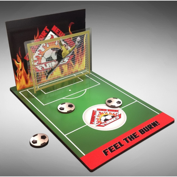 """Table Top Soccer Game (18"""" deep/long x 12"""" wide)"""