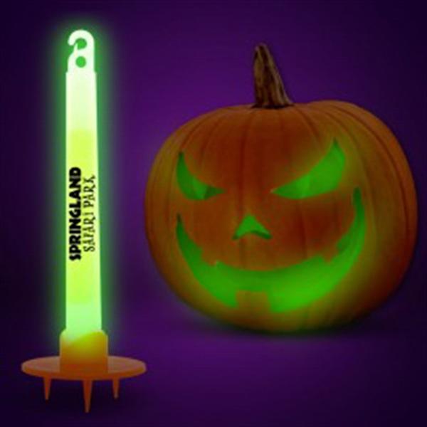 Green Glow Pumpkin Light