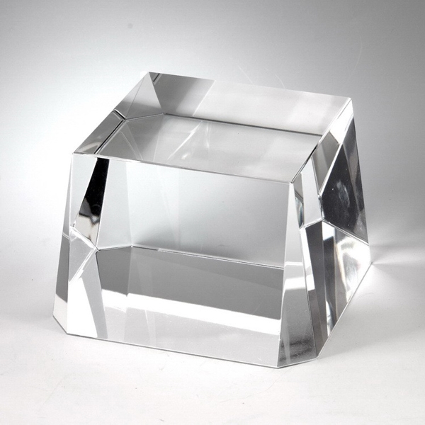 "Clear Crystal Base 2 1/2"" x 5"""