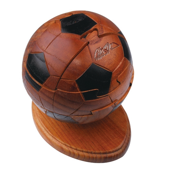 SOCCER BALL WOOD PUZZLE
