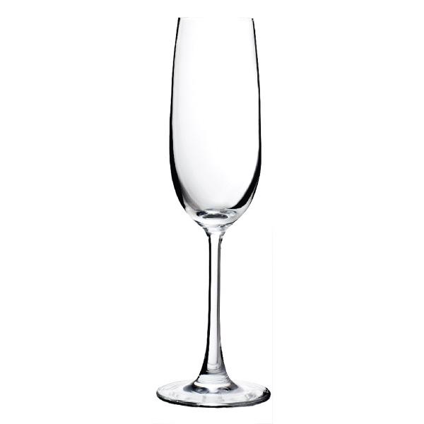 Vigneto™ Sheer Rim Champagne Flute Glass, 7.3 oz.