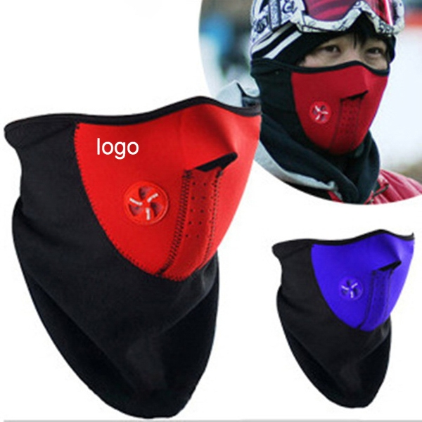 Windproof Half Face Mask
