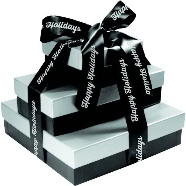 Fifth Avenue Gift Box Tower - Bakery, Mixed Nuts, Candy