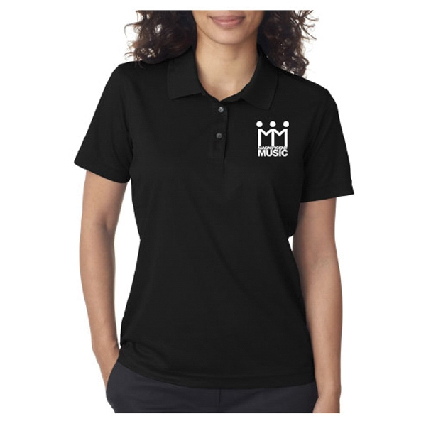 Wholesale UltraClub Ladies' Cool & Dry Mesh Pique Polo Shirt
