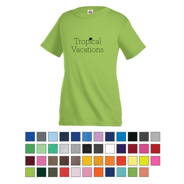 Delta® Pro Weight™ Youth Short Sleeve Tee - Pro Weight Youth Short Sleeve Tee 5.2 Oz.