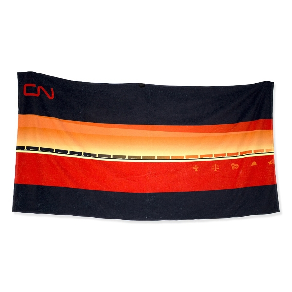 "Beach Towels 28 x 58"" Heat Sublimated"