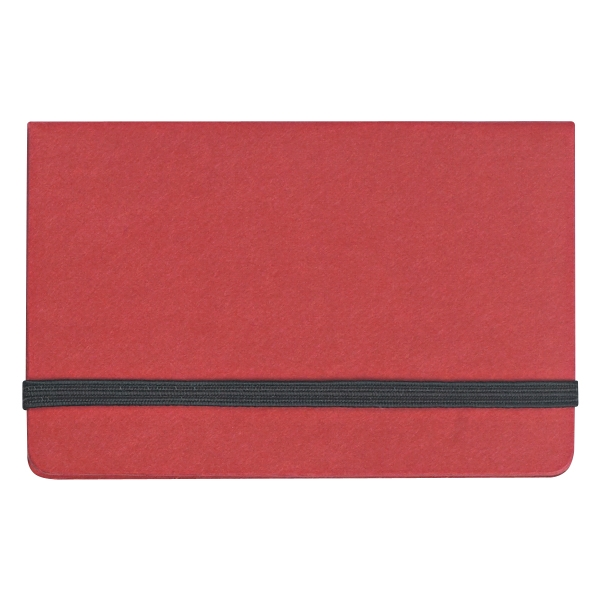 Sticky notes and flags in business card case colourmoves