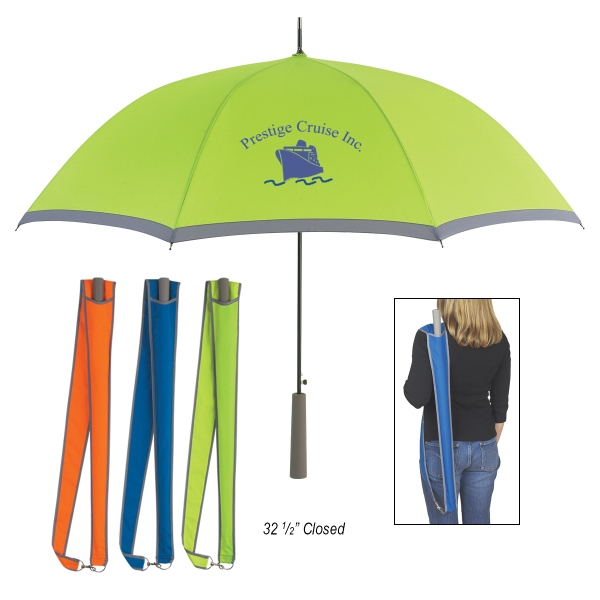 "46"" Arc Two-Tone Umbrella"
