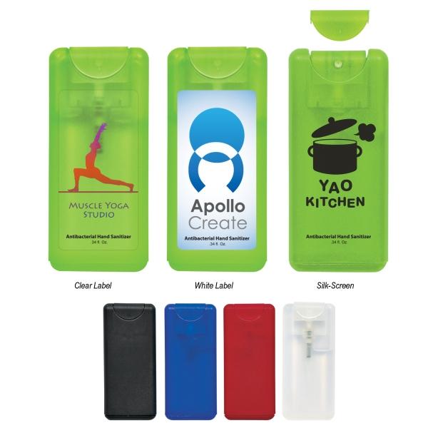 0.34 oz Compact Hand Sanitizer Spray