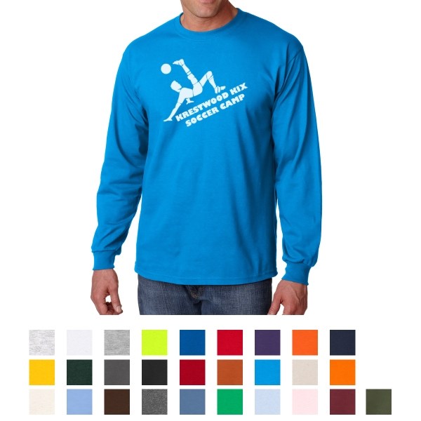 Gildan Adult Ultra Cotton (R) Long Sleeve T-Shirt