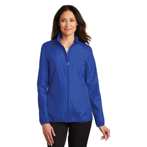 Port Authority Ladies Zephyr Full-Zip Jacket.