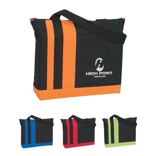 Tri-Band Tote Bag