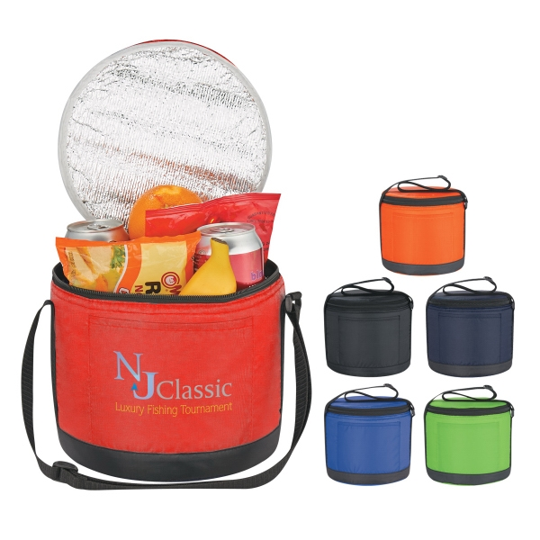 Cans-To-Go Round Kooler Bag