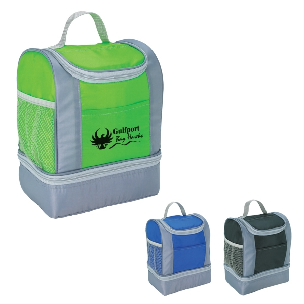 Two-Tone Insulated Lunch Bag