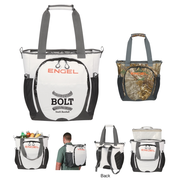 23 Qt. Engel Backpack Cooler - Embroidered