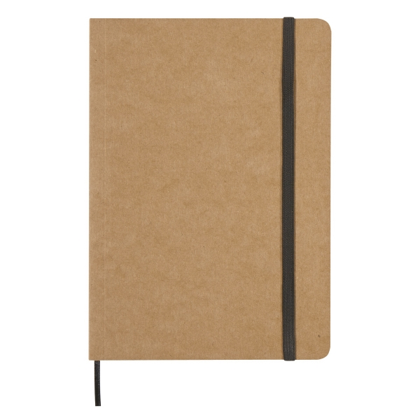 """5\"""" X 7\"""" Eco-Inspired Strap Notebook"""