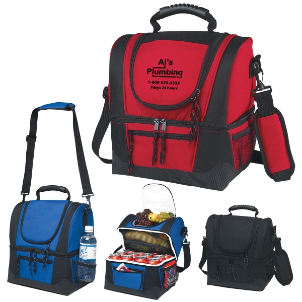 Dual Compartment Kooler Bag