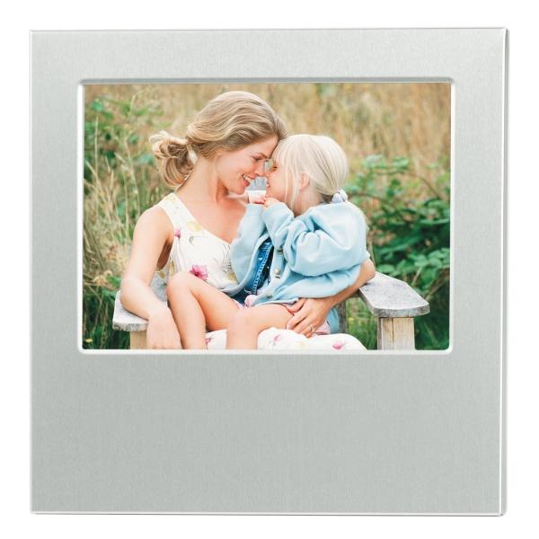 """4"""" x 6"""" Dazzling Aluminum Photo Frame"""