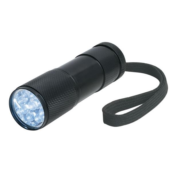 The Stubby Aluminum LED Flashlight With Strap