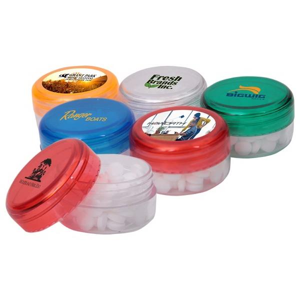 Translucent Mint Jar   Everything Branded USA