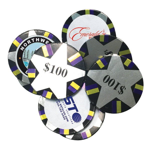 Chocolate Coins- Decorated Poker Chips