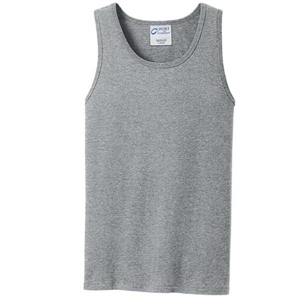 Personalized Port & Company (R) Core Cotton Tank Top