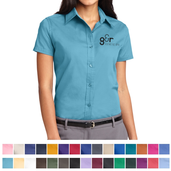 Port Authority (R) Ladies Short Sleeve Easy Care Shirt