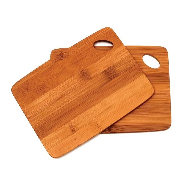 Bamboo S/2 Thin Cutting Boards 6