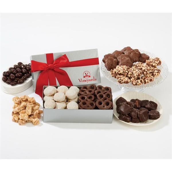 Executive Christmas Food Gift Box - Bakery Items & Pretzels