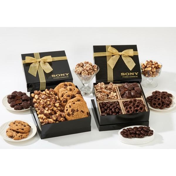 The Chairman Popcorn & Cookie Gift Box - Caramel