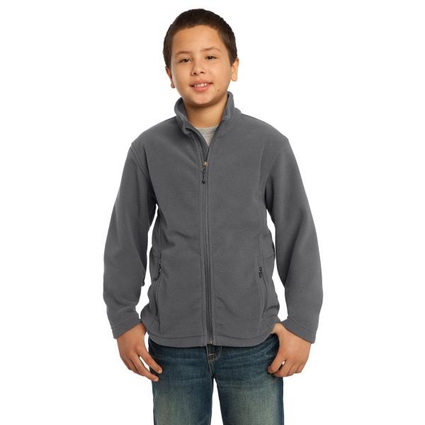 Port Authority Youth Value Fleece Jacket.
