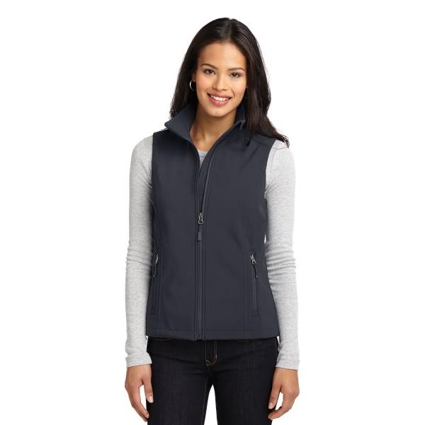 Port Authority Ladies Core Soft Shell Vest.