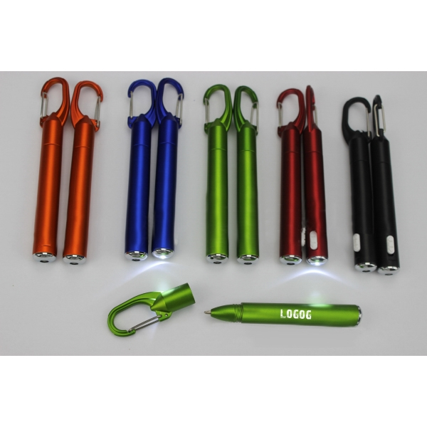 Mountaineering Buckle Lamp Pen