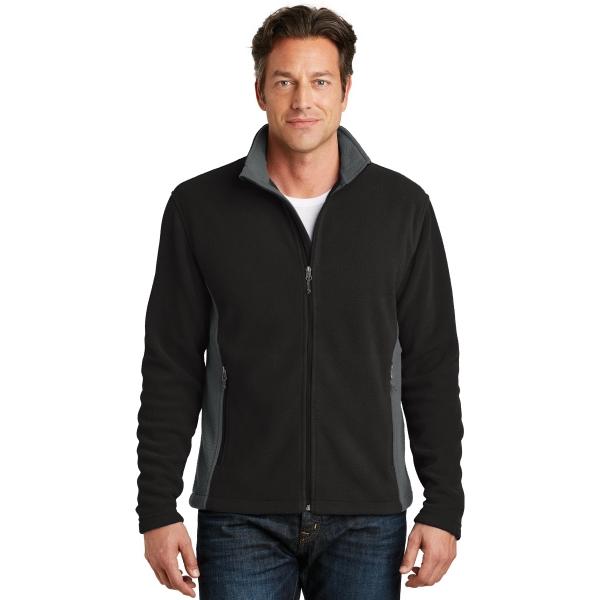 Port Authority Colorblock Value Fleece Jacket.