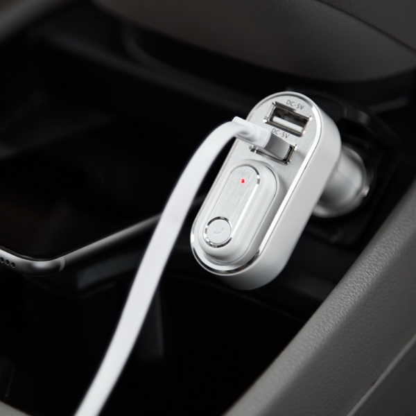 2 in 1 USB Car Charger and Bluetooth earbud