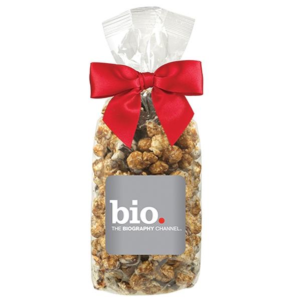 White & Dark Chocolate Swirl Popcorn Gift Bag