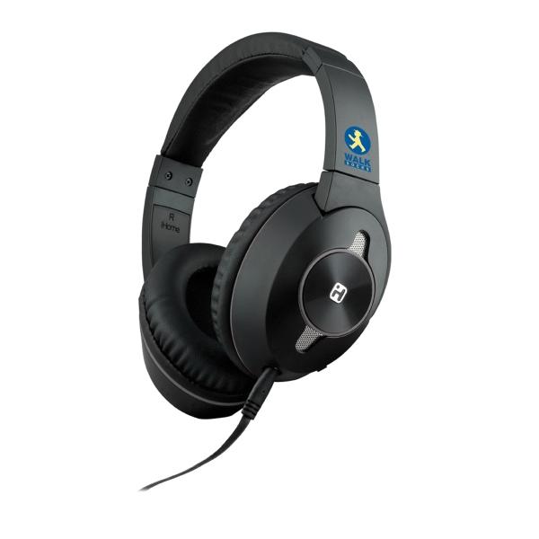 Active Noise Canceling Over-Ear Headphones-Mic Plus Remote