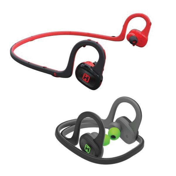 Water Resistant Bluetooth Behind Neck Sport Earphones-Mic