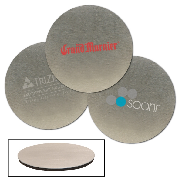 Stainless Steel Round Beverage Coaster