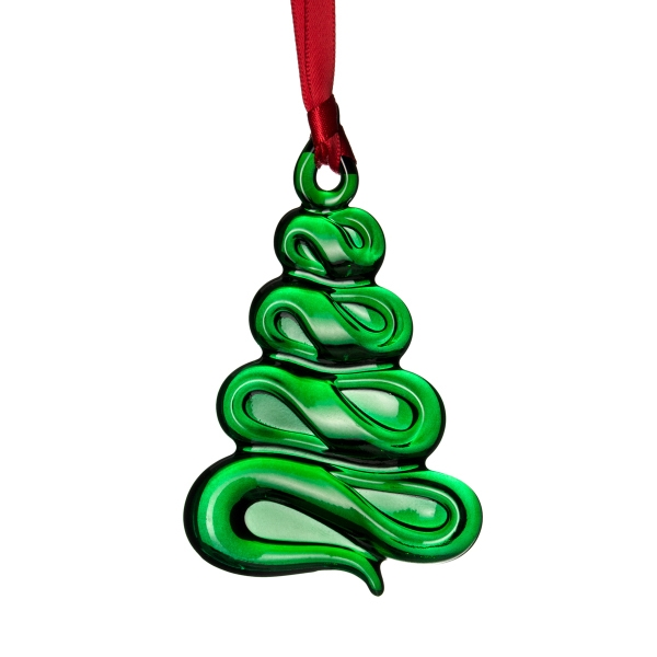 Holly Days Christmas Tree Ornament Green
