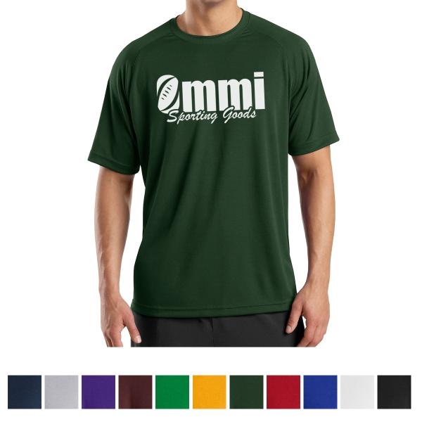 Sport-Tek (R) Dry Zone (R) Short Sleeve Raglan T-Shirt