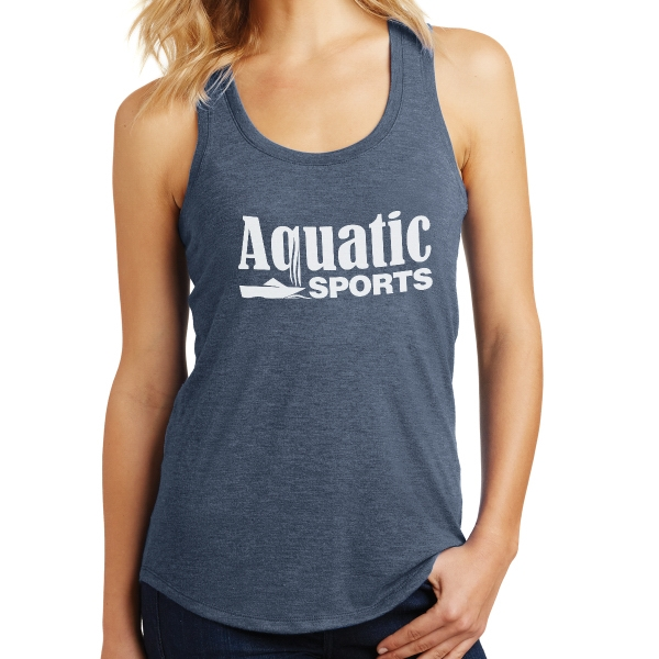 District Made (R)  Ladies' Perfect Tri (TM) Racerback Tank