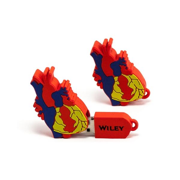 Custom 2D PVC USB Flash Drive - Turkey S