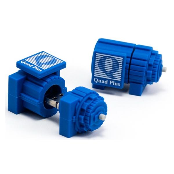 Custom 3D PVC USB Flash Drive - Engine S